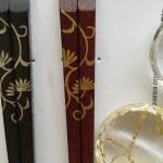 うるし塗り つる草手描きのお箸