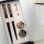 松葉菊(まつばぎく)のお箸のギフトセット